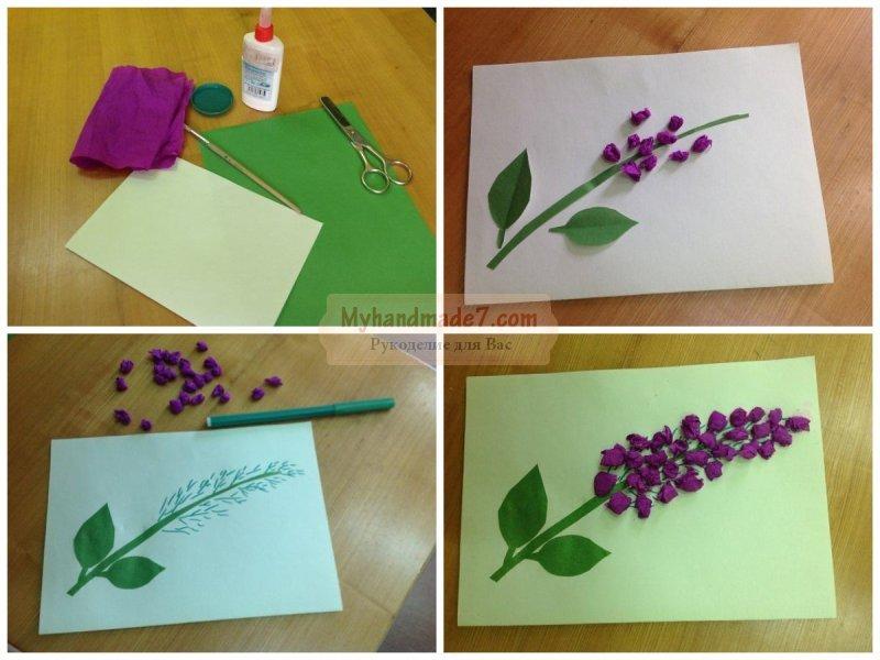 Сделать своими руками открытку на 8 марта для бабушки